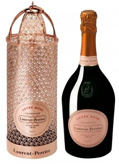 Laurent-Perrier Cuvée Rosé (éd. cage) Non vintage Bottle 75cl Presentation pack
