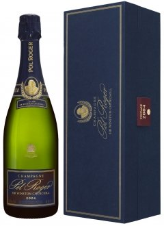 Pol Roger Sir Winston Churchill 2004 2004 Bottiglia 75 cl Cofanetto