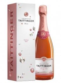 Taittinger Brut Prestige Rosé Non millésimé Bouteille 75CL Etui