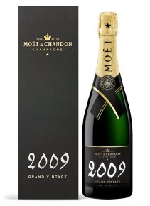 Moët & Chandon Grand Vintage 2009 2009 Bouteille 75CL Etui
