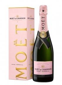Moët & Chandon Rosé Impérial Non millésimé Bouteille 75CL Etui