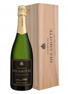 Delamotte Collection Blanc de Blancs 1985 1985 Bottle 75cl Wooden case