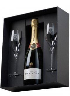 Bollinger Spécial Cuvée Non millésimé Bouteille 75CL bouteille + flûtes