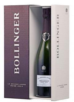 Bollinger La Grande Année Rosé  2005 2005 Bouteille 75CL Coffret