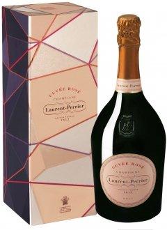 Laurent-Perrier Cuvée Rosé Non millésimé Bouteille 75CL Coffret