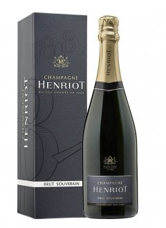 Henriot Brut Souverain Non vintage Bottle 75cl Box