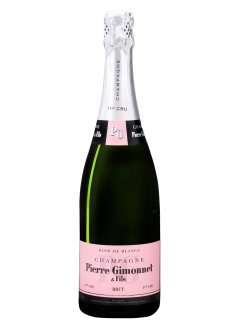 Pierre Gimonnet Rosé de Blancs Non millésimé Bouteille 75CL Nu