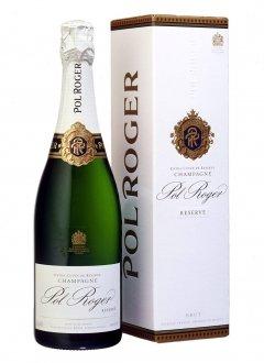 Pol Roger Brut Réserve Non vintage Bottle 75cl Box