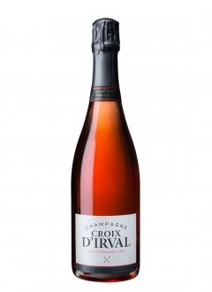 Croix d'Irval Brut Rosé Non millésimé Bouteille 75CL Nu